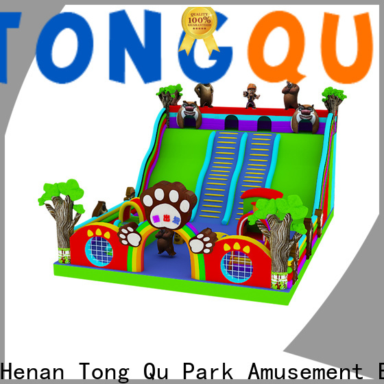 Tongtoy inflatable bounce slide combo factory price for amusement park