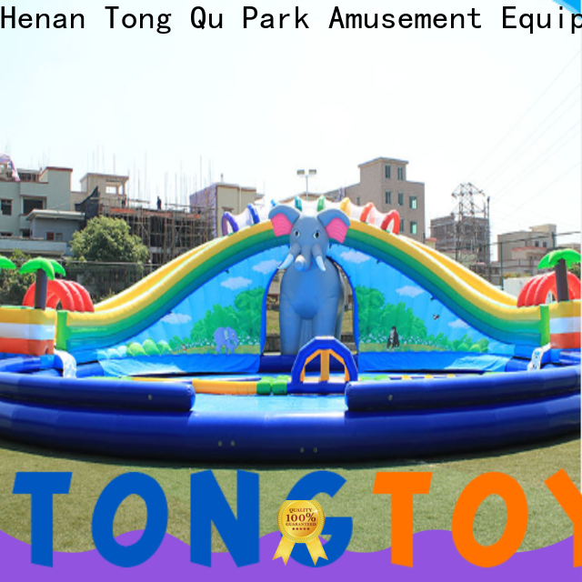 Tongtoy sidewinder water slide factory price