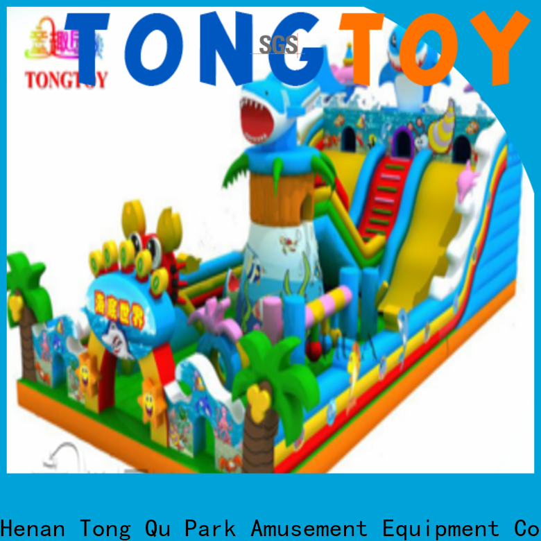 Tongtoy bouncers bouncy castle supplier for kids