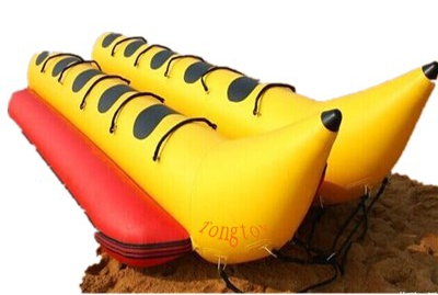 inflatable commercial water park toys inflatable banana boat floating toy
