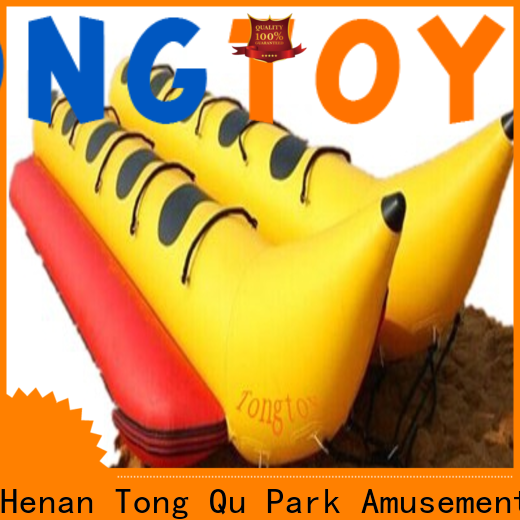 Tongtoy premium quality inflatable lake trampoline factory price for adult