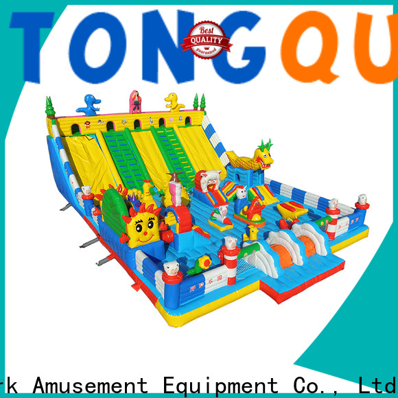 Tongtoy fire-resistant bounce house slide combo supplier for kids