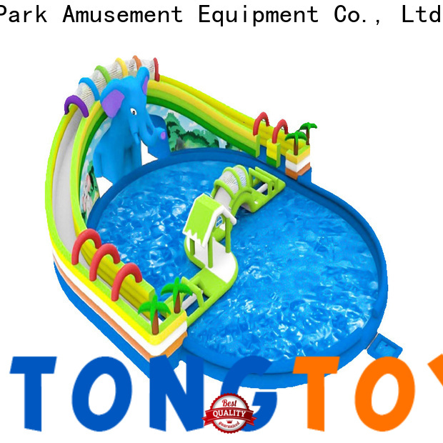 Tongtoy commercial slip and slide order now for water park