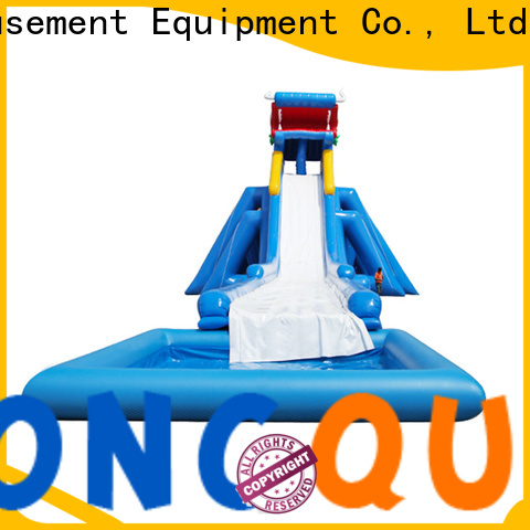 Tongtoy fire-resistant baby water slide reputable manufacturer for water park