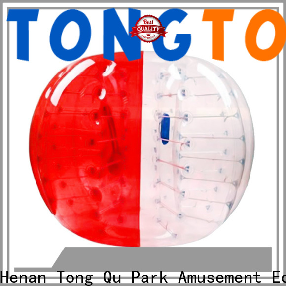 Tongtoy water bubble ball reputable manufacturer for water park
