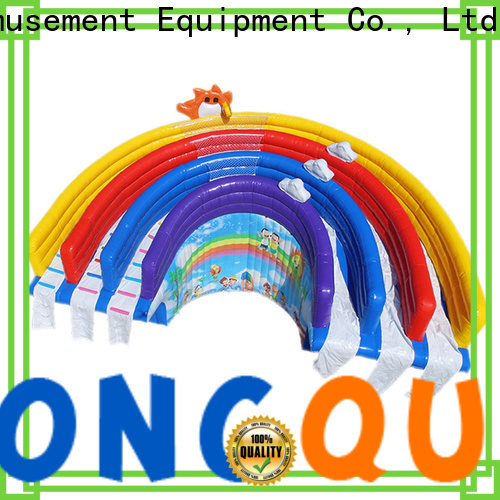Tongtoy double water slide inflatable order now for water park