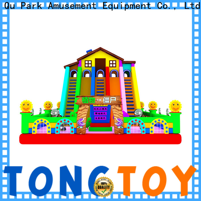 Tongtoy Best blow up slide from China for outdoor