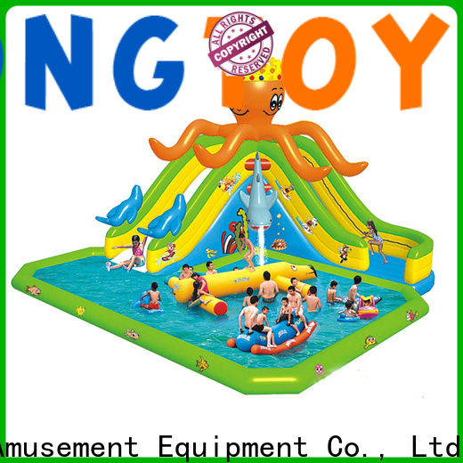 Tongtoy giant blow up water slide manufacturers for water park
