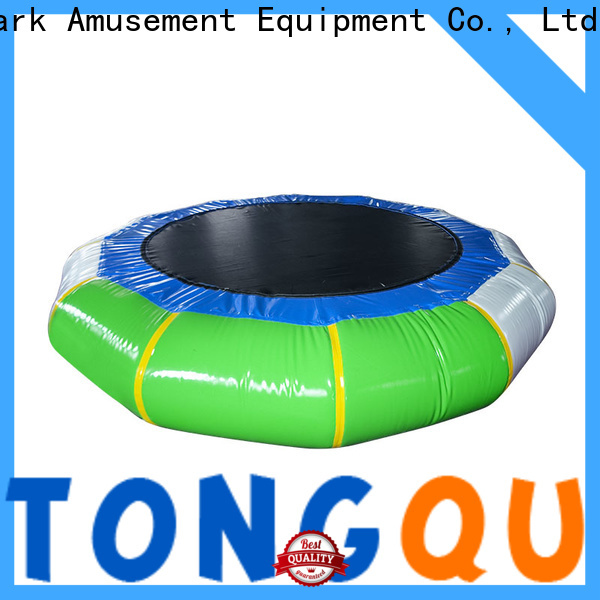 hot sale inflatable football pitch customized for water park