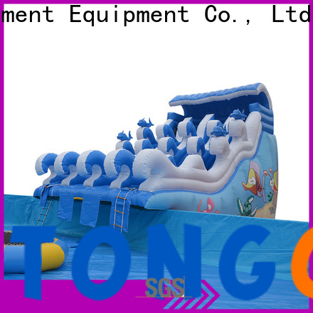 Tongtoy bouncy castle with pool & waterslide factory