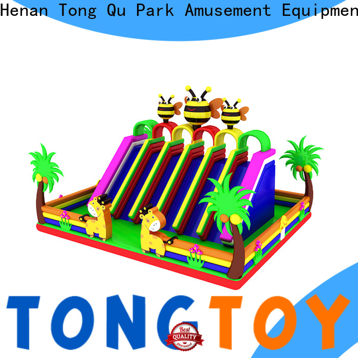 Tongtoy New giant bouncy slide from China for amusement park