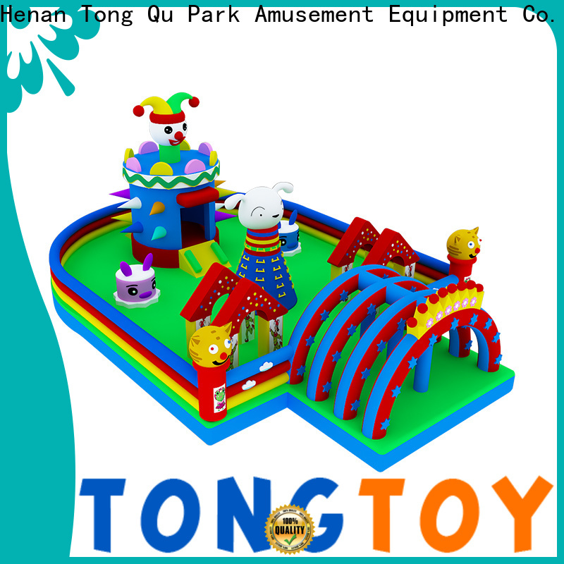 Tongtoy Heat resistant magic castle bounce house supplier for kids