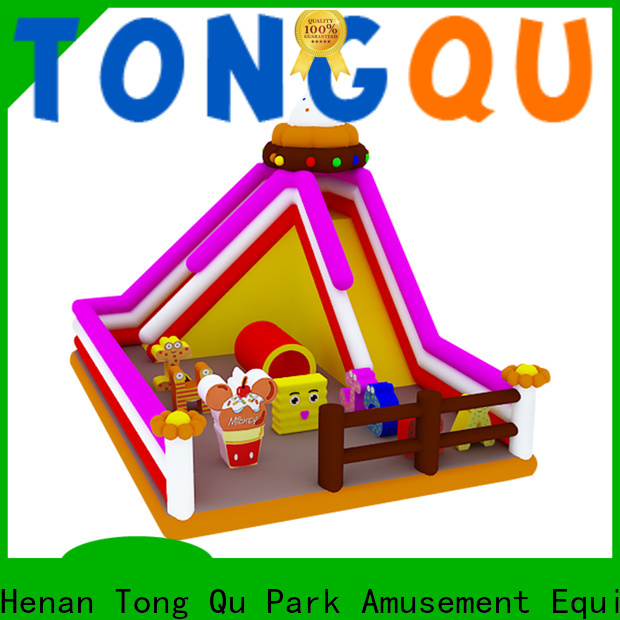 Tongtoy backyard inflatable slide reputable manufacturer for indoor