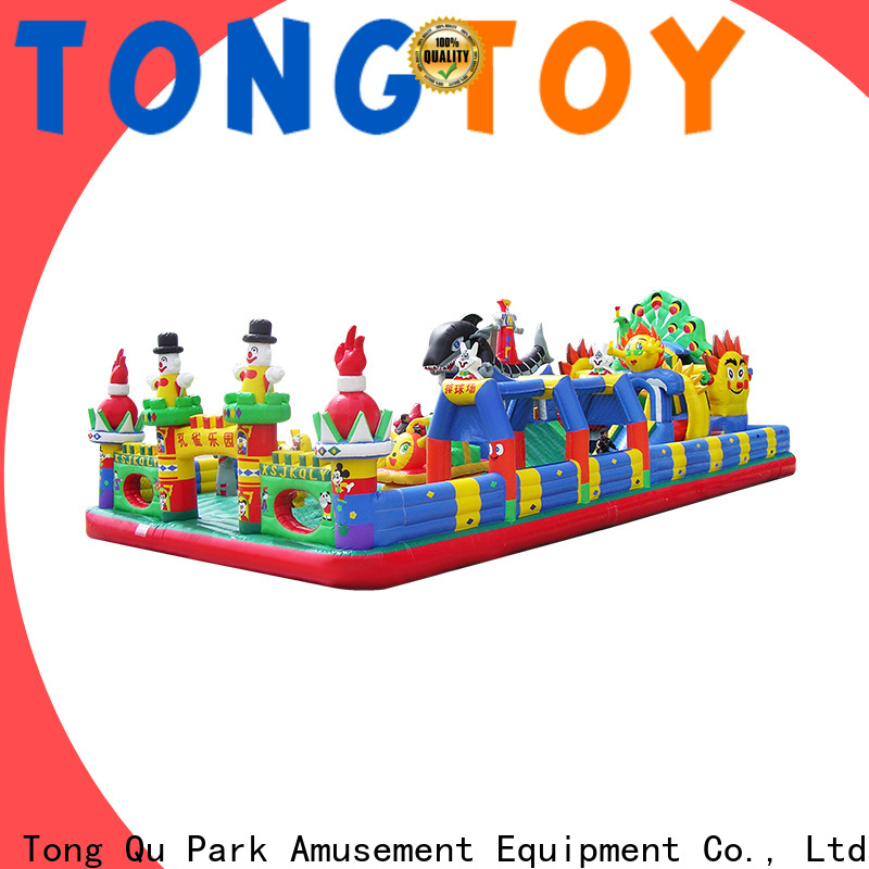 Tongtoy castle bounce house for sale wholesale for outdoor