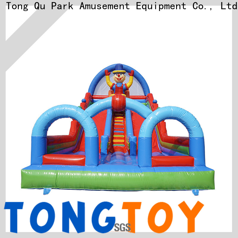 Tongtoy inflatable bounce slide reputable manufacturer for indoor