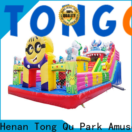 colorful 4 in 1 combo bounce house supplier for kids