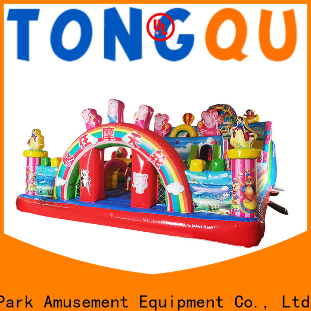 fire-resistant inflatable slide bouncer wholesale for adult