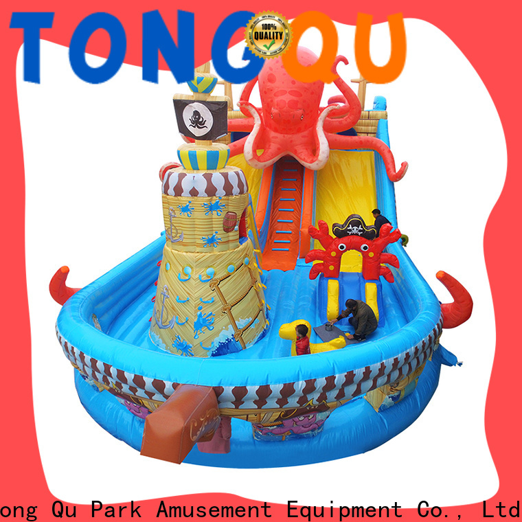 Tongtoy giant inflatable water slides for sale wholesale for adult