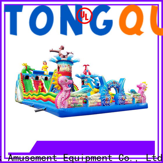 Tongtoy giant inflatable water slide supplier for adult