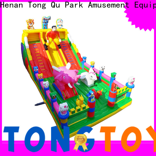 Tongtoy jump and slide bounce house inquire now for adult