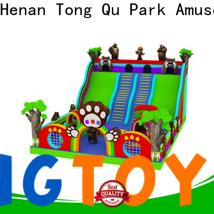 Tongtoy commercial inflatable slide from China for amusement park