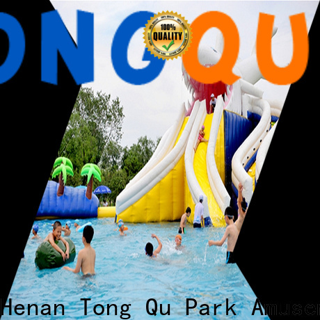 Wholesale bounce round water slide Supply for swimming pool