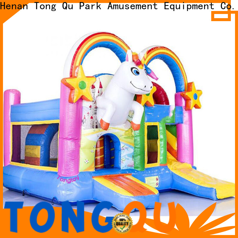 Tongtoy colorful huge inflatable water slide for sale supplier for kids