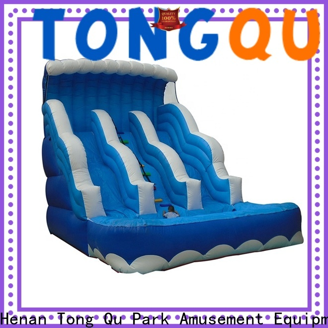 Tongtoy commercial water slides for sale for business for swimming pool