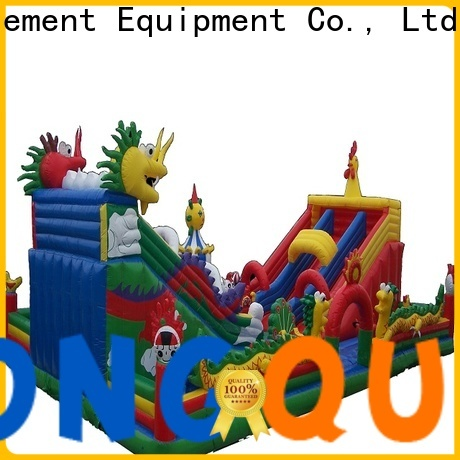 Tongtoy colorful obstacle inflatable bouncers inquire now for adult