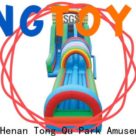 Tongtoy Wholesale unicorn water slide jumper Supply for swimming pool