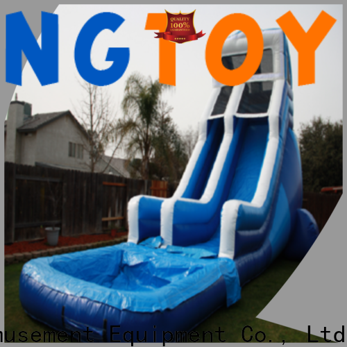 Tongtoy inflatable shark slide factory for water park
