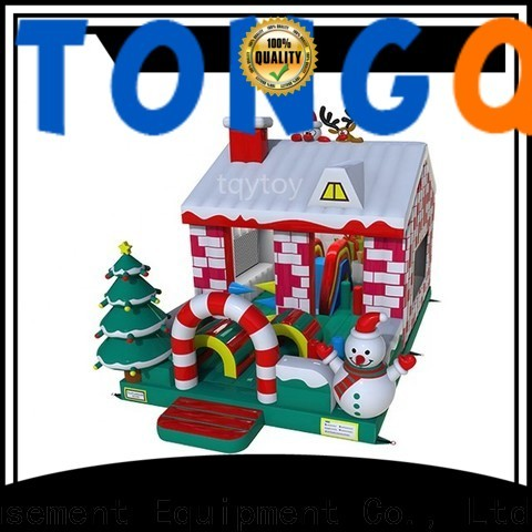 Tongtoy jump and slide bouncer inquire now for outdoor