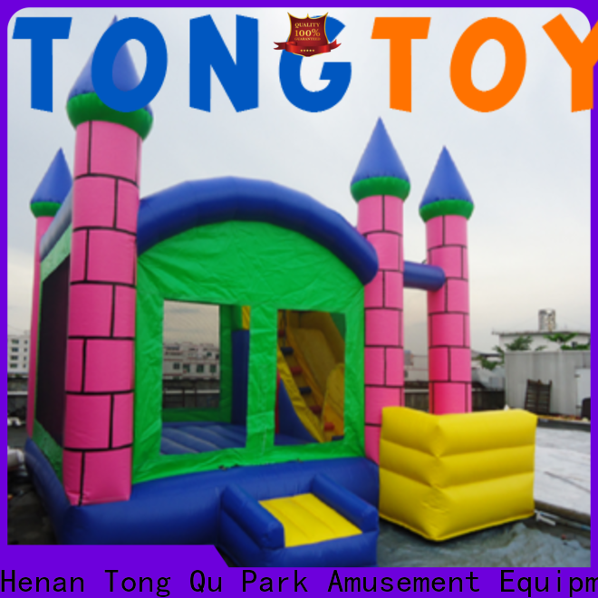 Tongtoy commercial grade bounce house supplier for kids