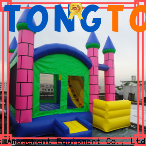 Tongtoy fire-resistant kids bounce house for sale supplier for adult