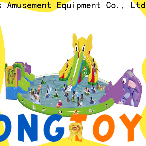 Latest huge inflatable water slides for rent company