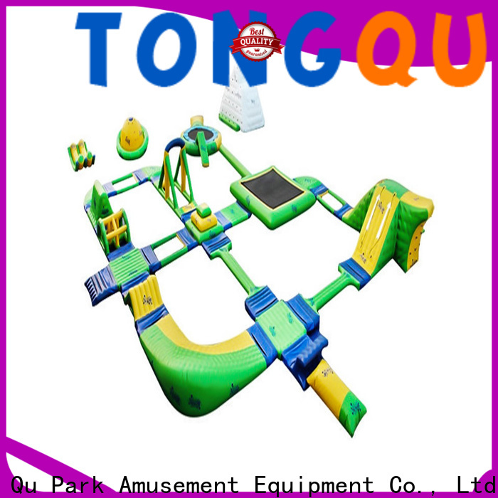 Tongtoy outdoor blow up water park company for playground