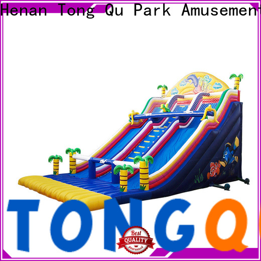 Tongtoy commercial commercial inflatable slide factory price for indoor