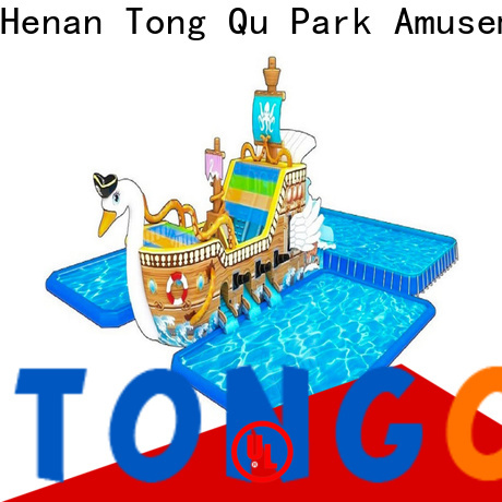 Tongtoy Custom 22 ft water slide factory for water park