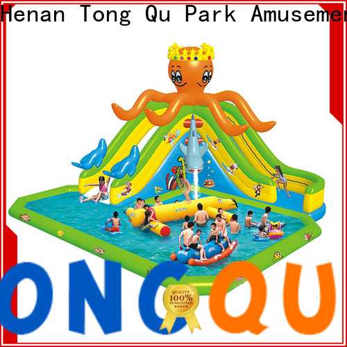 Tongtoy customized water slide home factory