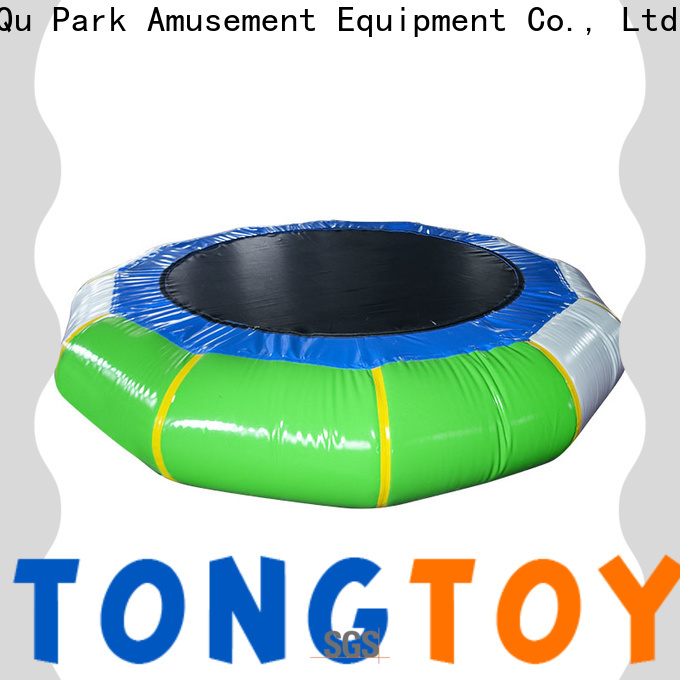 Tongtoy premium quality inflatable water floats customized for amusement park