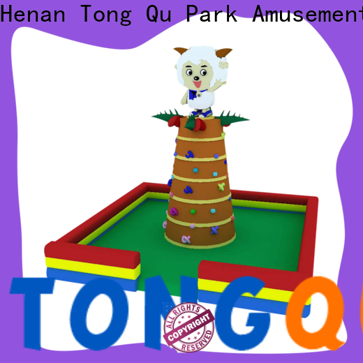 Tongtoy bounce house climbing wall order now for carnivals
