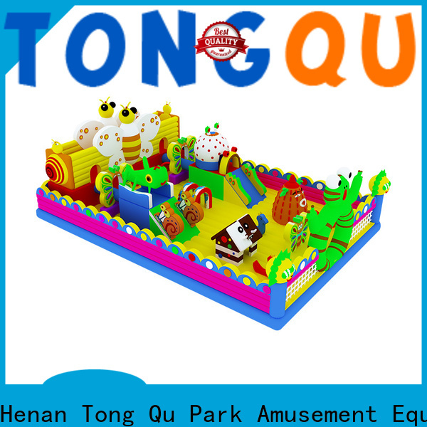 Tongtoy commercial bounce house with slide inquire now for kids