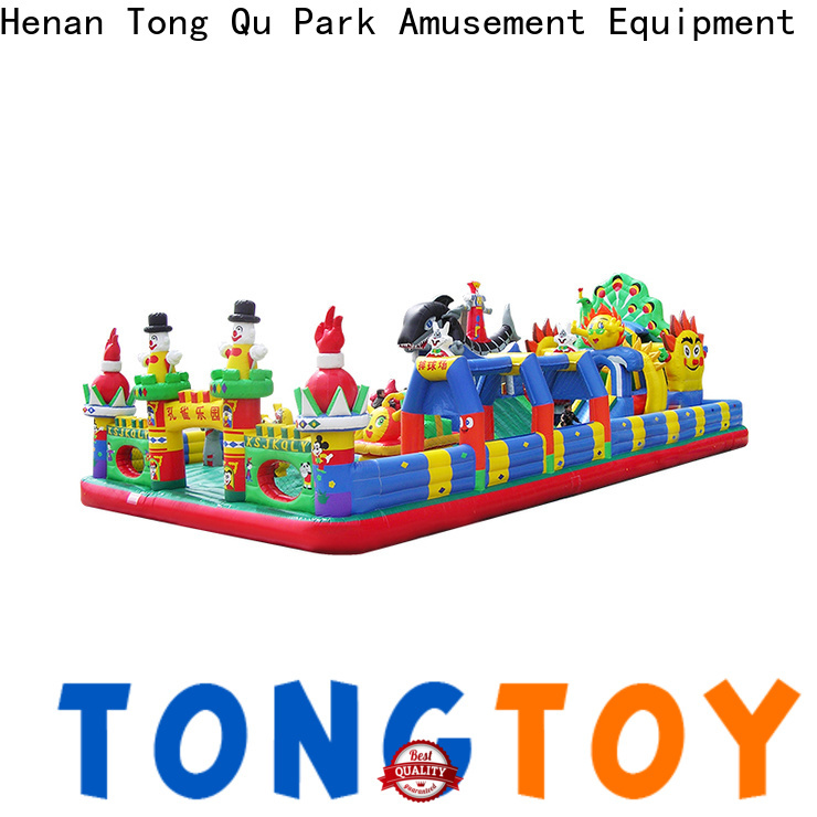 Tongtoy bouncer and slide supplier for adult