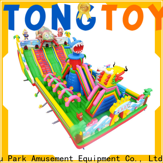 water-proof inflatable bouncer slide wholesale for outdoor