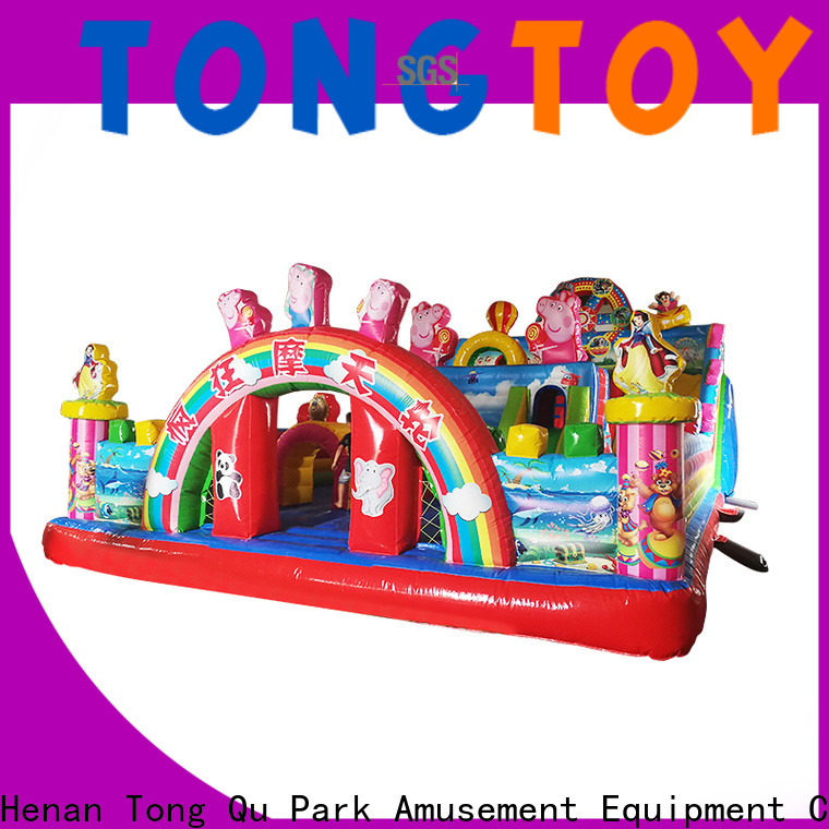 fire-resistant jump bounce house supplier for kids