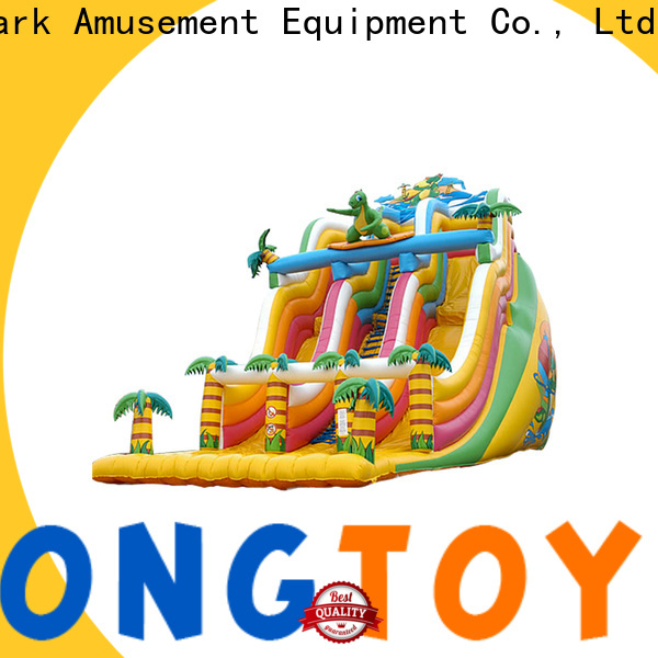 Tongtoy bounce house slide combo factory price for amusement park