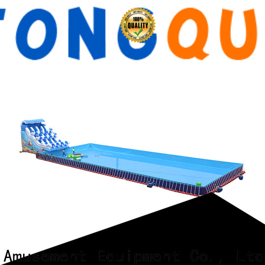 Tongtoy New wet slides order now for swimming pool