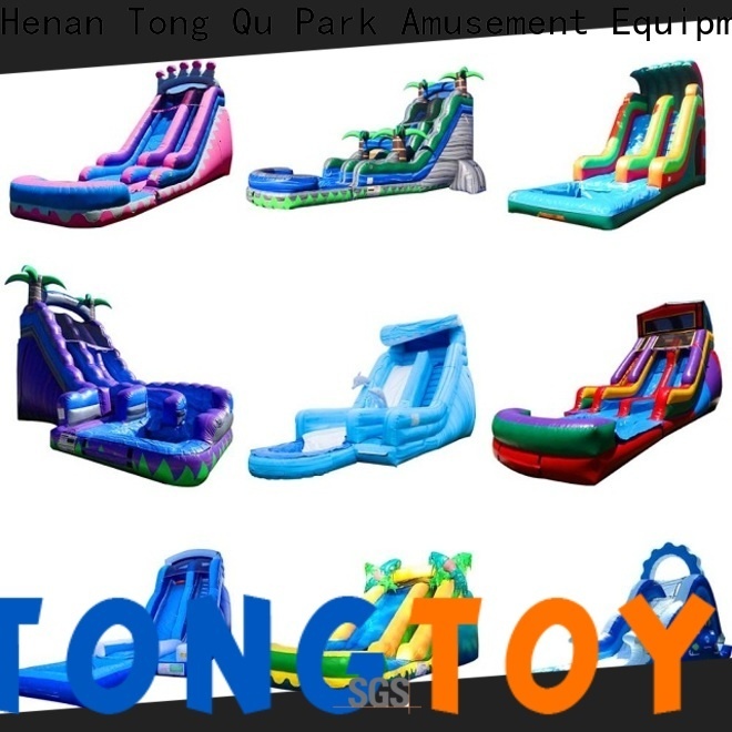 Tongtoy New adult blow up slide reputable manufacturer for outdoor