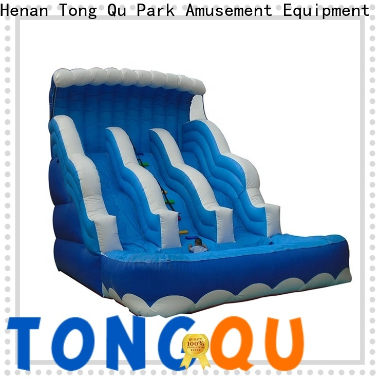 Tongtoy inflatable water slide for sale near me for business