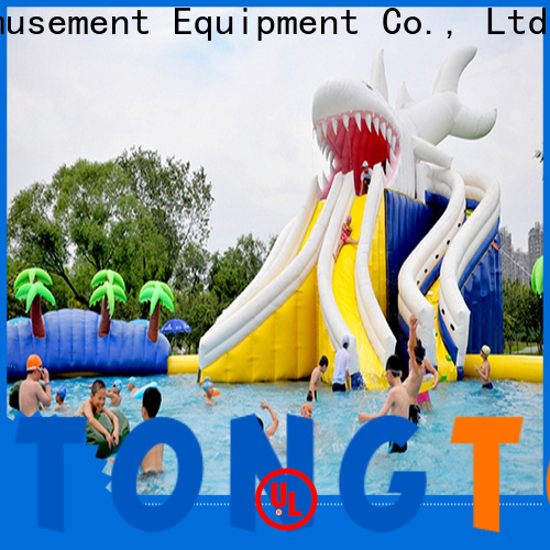 Custom inflatable bounce house with slide factory price